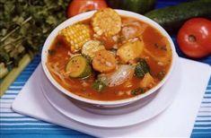 Sopa de mondongo: muy típica con vegetales y el mondongo de la res.