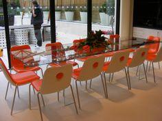 Boum chair by Monica Graffeo for Kristalia #designchair #ergonomic #conferencehall