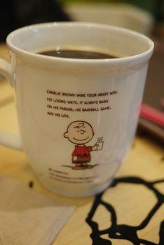 Charlie Brown Cafe (Seoul, South Korea) Charlie Brown Cafe, Coffee Shop, Coffee Mugs, Coffee Milkshake, Dog Shop, Coffee Culture, Peanuts Gang, South Korea, Mornings