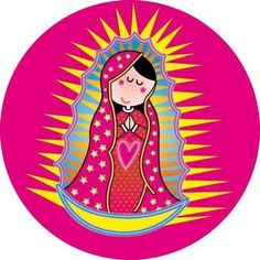 Resultado de imagem para mother mary art lesson for kids Christmas Angels, Christmas Crafts, Diy And Crafts, Paper Crafts, Blessed Mother Mary, Art Lessons For Kids, Bottle Cap Images, Mexican Folk Art, Cartoon Images