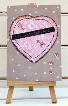 You Are Awesome! Handmade Card by fizzi~jayne makes....