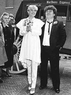 Huwelijk Andre Hazes en Ellen Wolf Amsterdam 1981