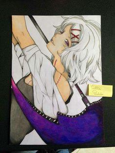 Drawing of Mirai - Juuzou Suzuya - Tokyo Ghoul