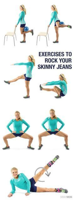 Great exercises to strengthen and tone legs!