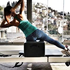 Pilates with a view! Wow!