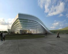 Exhibition Center of Otog by Kuan Wang ~ DesignDaily