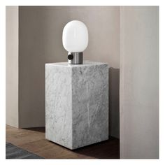 Shop Original Menu Furniture, Lighting and Home Accessories @ Olson and Baker Tall Coffee Table, Tall Side Table, Honed Marble, Carrara, Cubes, Danish Design Store, Concrete Lamp, Metal Table Lamps, Tallit