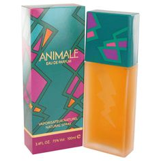 ANIMALE Perfume by Animale Eau De Parfum Spray 3.4 oz for Women NEW IN BOX #Animale