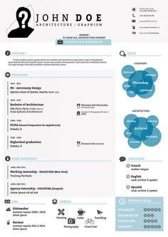 Free PSD Resume Template – graphberry.com