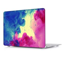 Fashion Colors Ink Flow Printed Case Air 11 12 13 Pro 15 For Apple Macbook With Retina Hard Cover Sleeve Shell