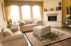 Bloomfield Homes Living Rooms