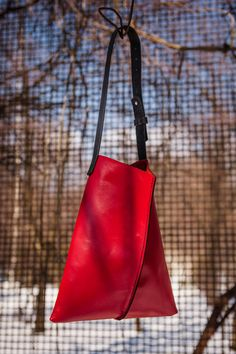 Red Leather Bag.