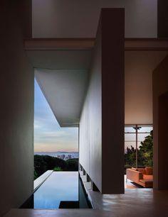 Terrace and Swimming Pool at Gubbins House Design by Antonio Zaninovic Architecture Studio
