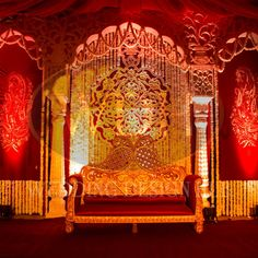 Carved fiber couple seating for traditional and sufi setups.
