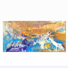 Abstract Art Painting, Acrylic Painting, Original Art Painting, Bedroom Canvas Art