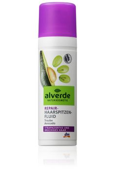 alverde Repair-Haarspitzen-Fluid Traube Avocado