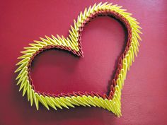 3D Origami - Simple Origami Heart