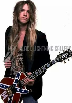 Zakk Wylde............without the beard so we can see his handsome face.