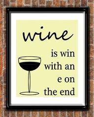 I love wine! I'm not really a WINo any more though. Funny Wine Pictures, Funny Images, Bing Images, Wein Parties, Chocolate Wine, Friday Humor, Funny Friday, In Vino Veritas, Wine Time