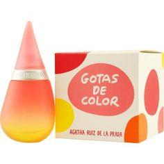 Agatha Ruiz De La Prada Gotas De Color By Agatha Ruiz De La Prada Edt Spray 1.7 Oz