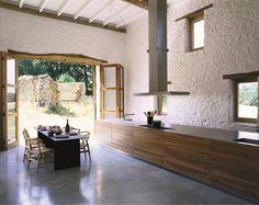 bulthaup b3 #stuhl #küche #wandgestaltung #küchentresen #tisch #küchentisch ©Bulthaup GmbH & Co KG