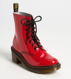 Doc Martens Clemency Boot Red #DocMartens