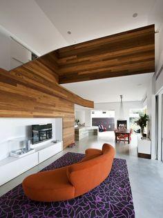 Eckiges Interieur Design weckt das Interesse - MCK Architects