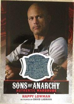 Sons of Anarchy Seasons 4&5  Happy  Wardrobe Card
