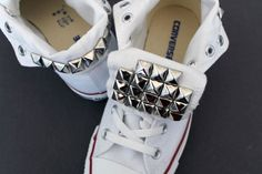 Studded Converse | 33 DIY Shoe Hacks
