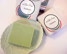 Pearberry Soap- All natural bath products handcrafted at Abilis. All profits support people with disabilities.