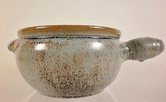 Vintage AR COLE Sanford North Carolina Art Pottery Casserole Bean Pot