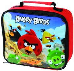 Backpacks & Bags Expressive Thermos Angry Birds Sky Hogs Green Blue Licensed Lunch Bag Brand New In Bag