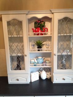 Hand painted kitchen Wicklow Furniture, Wooden Kitchen, Kitchen Restoration, Bespoke Kitchens, Home Decor, New Kitchen, China Cabinet, Storage, Kitchen Paint