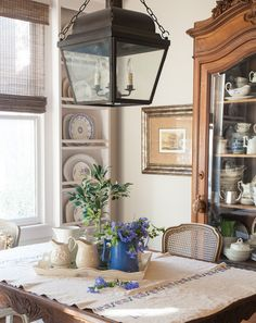 What is your color of the year? Are you adding new color to your home? See how I added lavender to my house. It works beautifully on Cedar Hill Farmhouse.  Home Decor   Lavender   Decorating