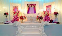 Wedding Stage- like the theme... but not that bright!@