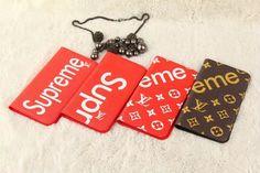 シュプリーム ルイヴィトン アイホンx 手帳型ケース コラボ カード収納 ブランド Supreme iphone8カバー アイフォン7/6sケース お洒落 レザー メンズ レディース 送料無料