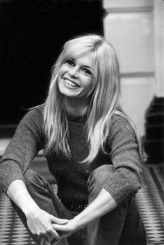 Brigitte Bardot at a London Hotel