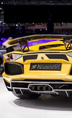 Lamborghini Aventador by Hamann