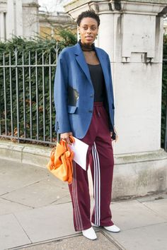 See how six street style stars pull off joggers and track pants, and then shop our very own version for Target.