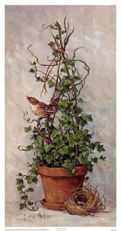 Spring Nesting I Barbara Mock