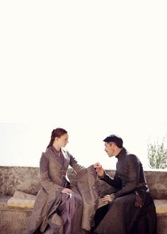 3x05 sansa and littlefinger