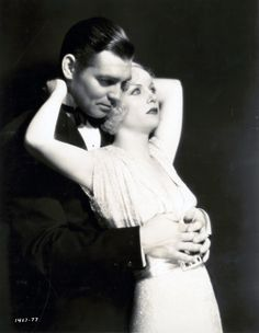 Clark Gable and his wife Carole Lombard