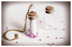 Como hacer un colgante de tarrito de cristal Encontrarás todos los materiales en: www.cuentaabalorios.com