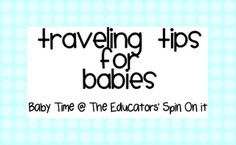 Tips for Traveling with a Baby