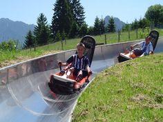 Sommerrodelbahn am Steckenberg in Unterammergau