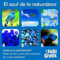 TU SALUD: El azul en la naturaleza.