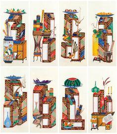 대한민국민화공모대전 - 이덕순 - 책가도 Korean Art, Asian Art, Traditional Design, Oriental, Butterfly, Culture, Illustration, Pattern, Painting