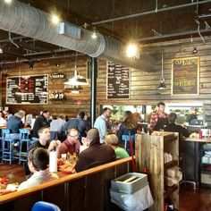 This is one of my favorite restaurants.  Originally from the Atlanta area, Farm Burger's focus on local meat and produce fits perfectly into Asheville's local culture.