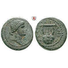 Römische Provinzialprägungen, Seleukis und Pieria, Antiocheia am Orontes, Nero, Bronze 62-63, vz: Seleukis und Pieria, Antiocheia am… #coins