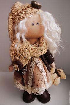 """Купить Интерьерная текстильная кукла """"ИриСка"""""""" - кукла ручной работы, интерьерная кукла, текстильная кукла"""